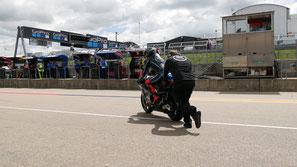 Francesco Bagnaia in der Moto2 2017 für das Sky Racing Team VR46