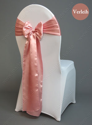 Stuhlschleifen in Farbe altrosa mieten