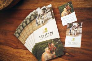Werbeflyer und Visitenkarten