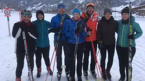 Langlauf &  Blackroll Kurs  14./15. Januar 2017 in der Lenk