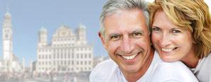 Mini-Implantate Augsburg - feste Zähne in der Zahnarzt-Praxis Gregorek