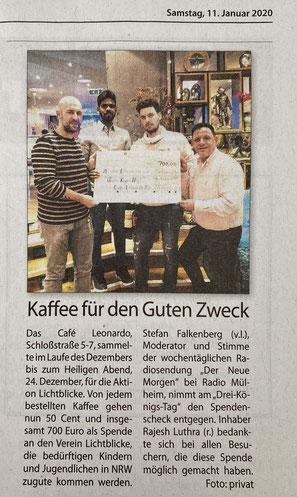 Cafe Leonardo© - Mülheimer Woche vom 11.01.2020