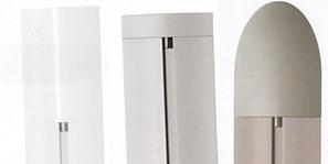 Design-Endstücke für Aluminium Gardienenstangen