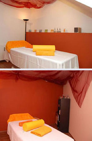 Foto-Impression: Anwendungszimmer in der Wellness- & Ruheoase des Therapiezentrum Bramfelds.