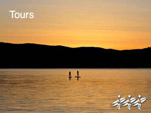 Sunrise Paddle Tour on Nicola Lake; or choose from one of our other popular SUP tours.