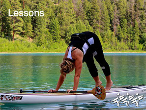 SUP lessons, SUP Fit, and SUP Yoga in the Nicola Valley. We're mobile!