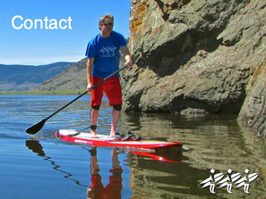 Contact us to book your SUP Adventure in the Nicola Valley - we're mobile!
