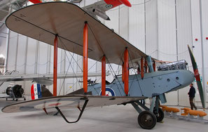 DH-9 at Duxford Museum