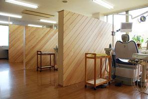連島町の住宅の模型写真