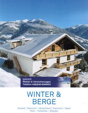 Singer Ferienhäuser und Wohnen im Winter und Gebirge jetzt buchen