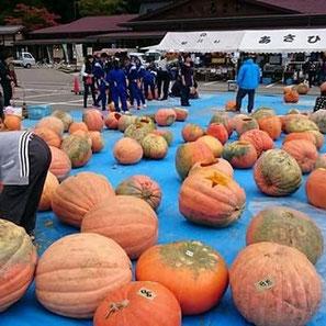 ハロウィンinあさひかぼちゃ彫り体験