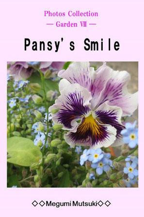 Photos Collection ― Garden Ⅶ ― Pansy's Smile Megumi Mutsuki