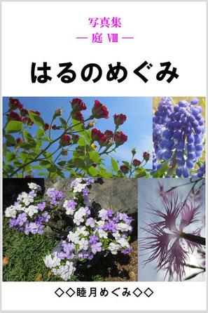 『写真集 ― 庭 Ⅷ ―  はるのめぐみ』 睦月めぐみ