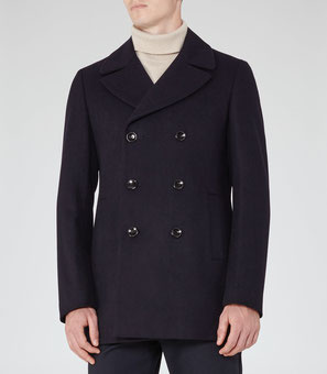 Reiss pea coat