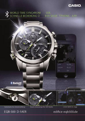 edifice bluetooth casio