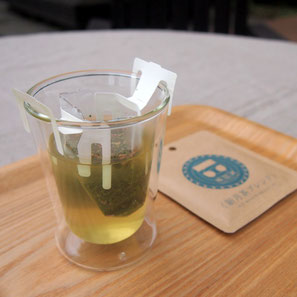 Organic tea in Kawane (Shizuoka prefecture) Taruwaki-en Organic drip tea