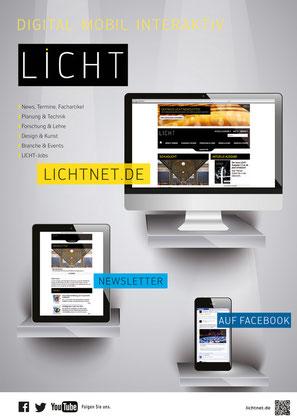 Fachzeitschrift LICHT crossmedia