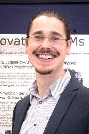 D.I. Christoph Stenzel, Projektmanager Greenovate