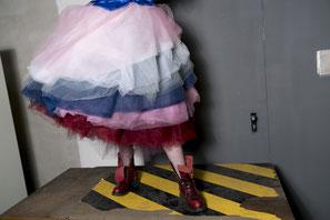 Tüllrock von Sonja Stern - Hommage an Westwood