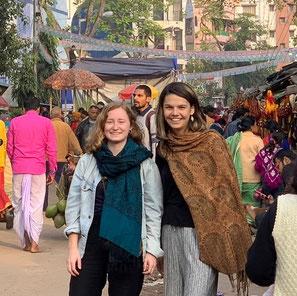 Jasmijn en Ezra in Kolkata (Januari 2020)