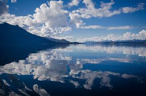 vagare della mente, meditazione dei pensieri come nuvole.