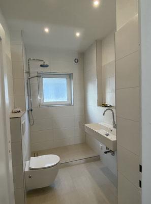 Badsanierung - Neues Badezimmer
