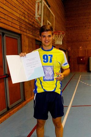 Pere Arnau - Nominació handbol categoria juvenil