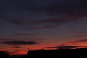 Sonnenuntergang über Wörnitz
