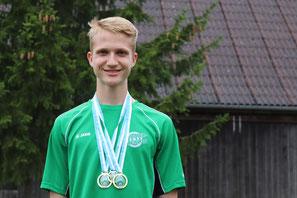 Fabian Scharf - Deutscher Meister Sommerbiathlon Wörnitz - Sommerbiathlon Schützen SG Wörnitz Schützengilde