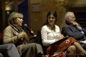 Françoise Cartron, Vice-présidente du sénat, Anne-Laure Fabre-Nadler, Alain Marois, Conseiller général Jeunesse et Collèges
