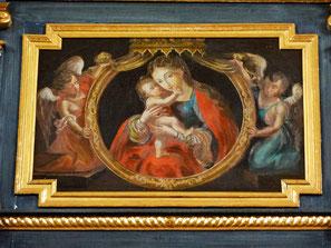 Marienrelief Orgelempore, St. Walburga