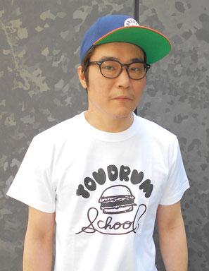 YOUドラムスクールオリジナルTシャツ