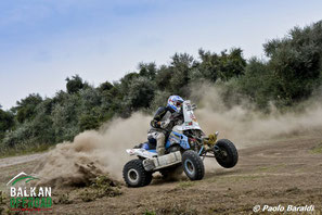 Tomas Kubiena vincitore quad