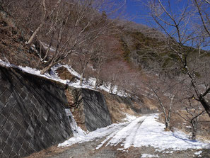 鷹ノ巣山登山口