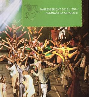Cover des Jahresberichts 2015/16