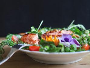 Fisch- und Heringssalate, Herkert Catering