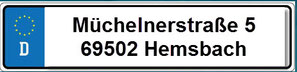 Bild: Anschrift: KFZ- & Motorrad- Meister-Werkstatt Dennefleh & Mades, Müchelnerstraße 5, 69502 Hemsbach