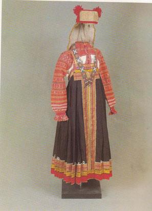 костюм тамбовской молодой женщины