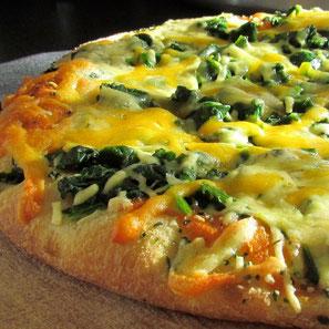 Pizza Espinaca Beef