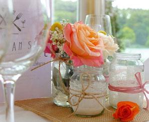 Hochzeitsdeko, Haus am See, Flappach, Efi, Hochzeitsagentur