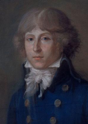 Portrait au pastel par Angélique Verrier-Maillard