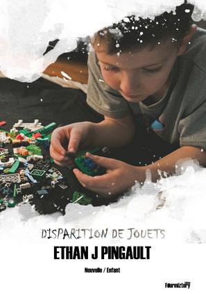 couverture - disparition de jouets - nouvelle