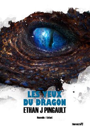 couverture - les yeux du dragon - nouvelle - 1 euro seulement