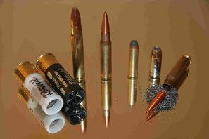 Flinten- und Büchsenmunition