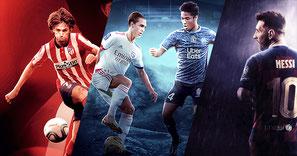 Football Design - Joao Felix / OL vs OM / Messi