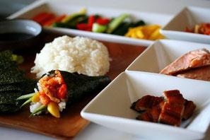 Ingredientes para elaborar tu sushi