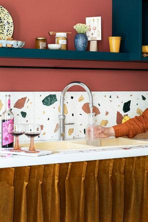 Kochend-Wasserhahn mit Mischbatterie im klassischen Design– der Quooker Classic Fusion Wasserhahn – www.hauste.ch