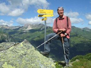 Bergkristall Wanderurlaub Tux - Lanersbach - in der Frühstückspension Bergkristall