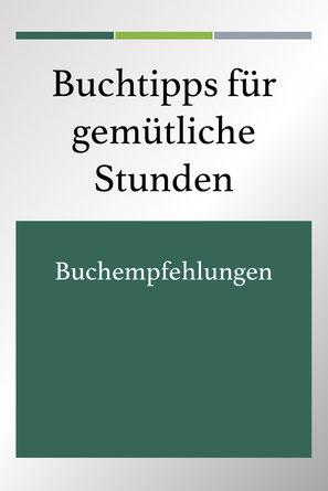 Buchempfehlungen: Buchtipps für den Urlaub. Bücherliste.