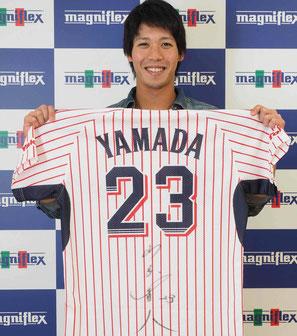 ヤクルト 山田哲人選手 | マニステージ福岡/スリープキューブ和多屋